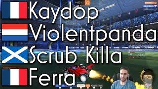 Kaydop (Rank 1), Violentpanda (Rank 2), Ferra (Rank 4) & Scrub Killa (Rank 13) | 2v2 Showmatch