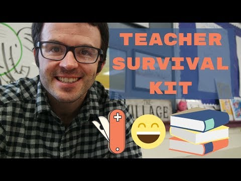 Teacher Survival Kit: 5 Books I Couldn't Live Without