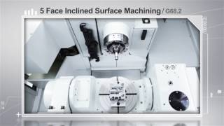 M8 PRESENTATION TOOL-Machining Center-Inclined Surface Machining Control