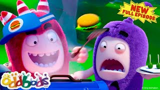 ODDBODS | Food Rivals | NEW Full Episode | Cartoons For Kids