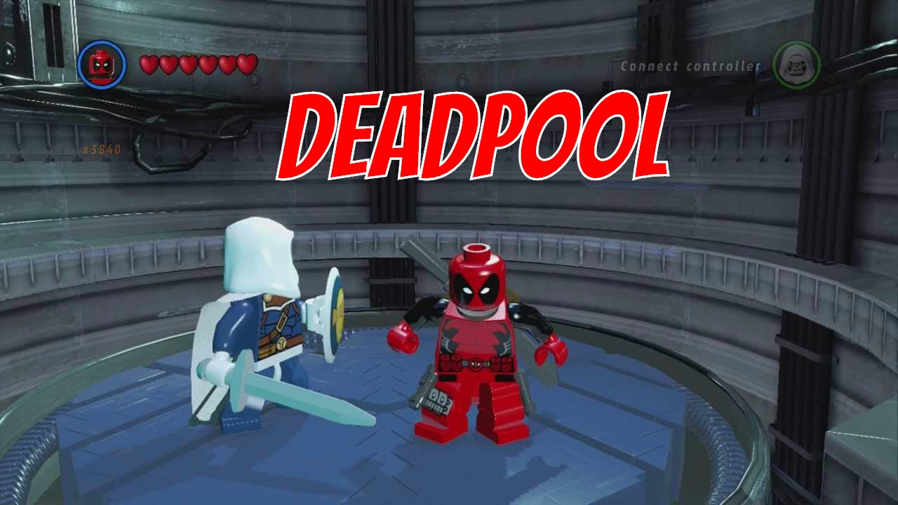 lego marvel superheroes deadpool gameplay and unlock