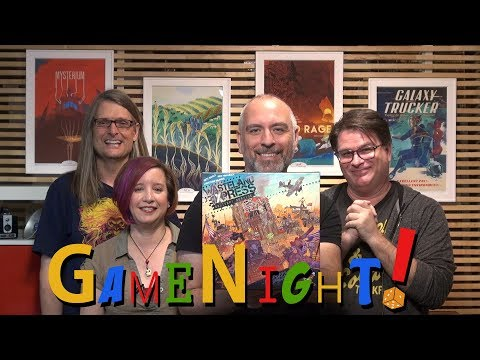 Wasteland Express Delivery Service - GameNight! Se5 Ep15