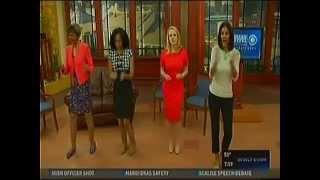 WWL TV Eyewitness Morning News -  National Have Fun At Work Day! (1-28-2015)