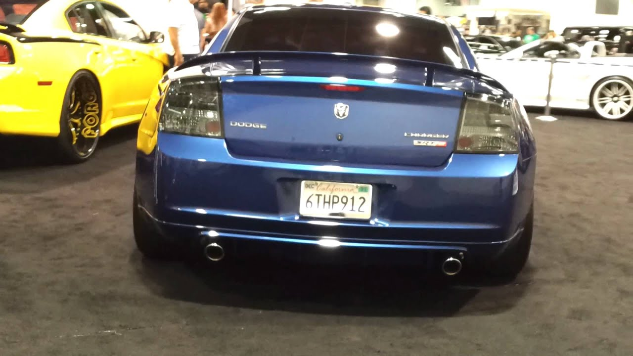 2008 dodge charger srt8 wide body at 2012 orange county auto show youtube. Black Bedroom Furniture Sets. Home Design Ideas