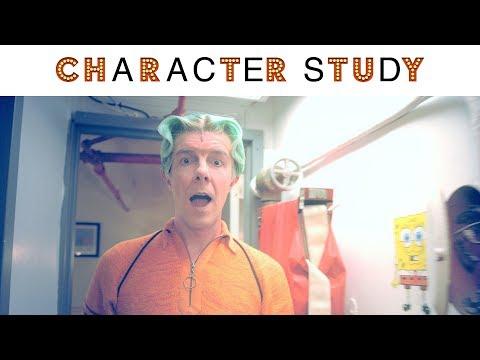 CHARACTER STUDY: Gavin Lee of SPONGEBOB SQUAREPANTS