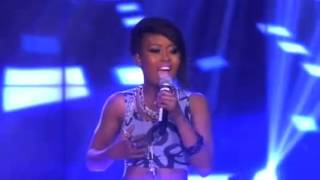 Idols South Africa 2013 Zoe dazzles on the stage, singing Janet Jackson