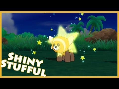 SOS Shiny Hunting - Stufful! Pokemon Moon [Twitch Highlight]