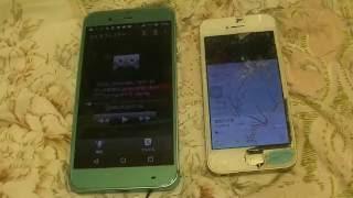 Iphone5とAQUOSフォンXx3 ボイスレコーダー比較 京都市バス車内放送編