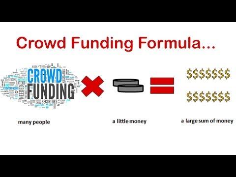 Crowdfunding Formula  Raise Money Quickly Through Crowdfunding
