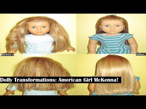 Dolly Transformations: American Girl McKenna!