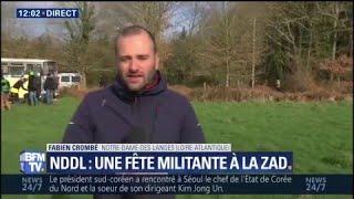 Notre-Dame-des-Landes: les militants fêtent l'abandon du projet d'aéroport