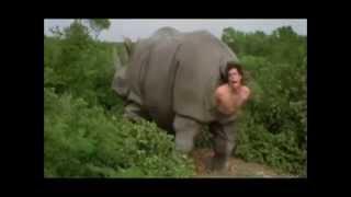 Ace Ventura - Cena do rinoceronte