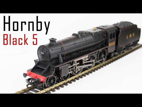 Unboxing the Hornby Railroad Black 5