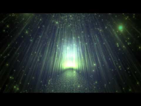 4K Glowing Dark Path Sparkling Travel 2160p Motion Background