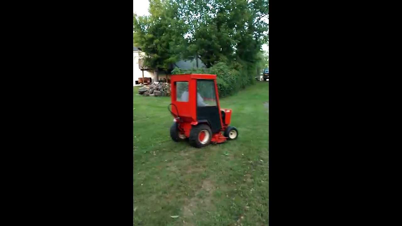 Case Lopro 224 Hydriv Garden Tractor Hard Cab
