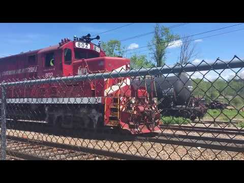 CLP GP16 pulls local freight around Burlington, VT