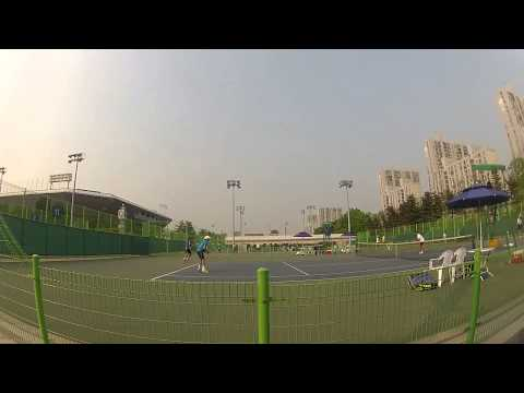 Life of a Tennis Pro (#2): Futures Doubles in Korea