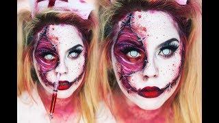 Dead Nurse Halloween Look 💉 | Nicole Matthews |