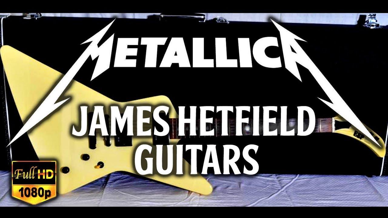 esp explorer guitars mx250 metallica james hetfield signature guitar collection youtube. Black Bedroom Furniture Sets. Home Design Ideas
