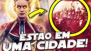 UMA CIDADE DENTRO DO REINO QUANTICO! VINGADORES 4 A SALVAÇÃO!