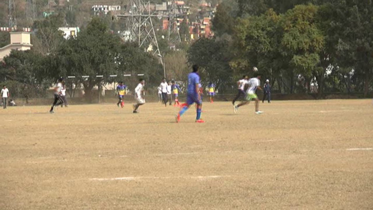 47d435be70 Football Tournament under  khelo India  - YouTube