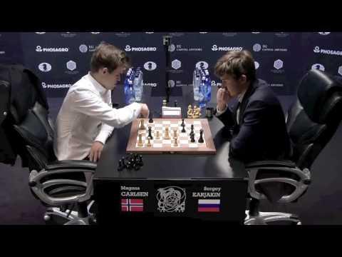 Magnus Carlsen Queen Sacrifice World Championship 2016