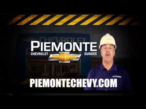 Al Piemonte Chevy >> Al Piemonte Chevy Construction Sale Youtube