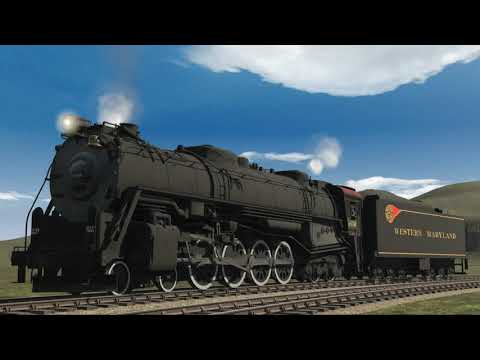 K&L's Trainz - Real Whistle of the WM Potomac Squealing!
