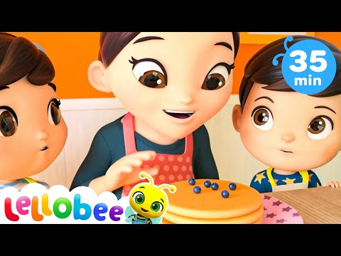 Making Pancakes Song | Baby Songs | Nursery Rhymes & Kids Songs | Little Baby Bum