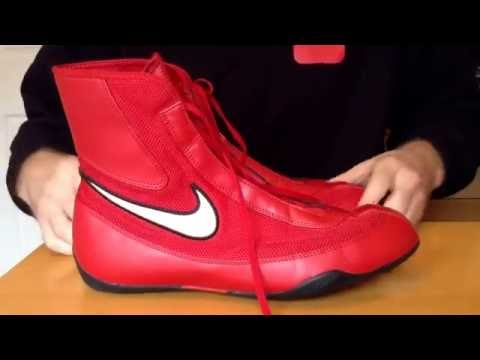 11011fa1ca79e Nike Machomai boxing boot review - YouTube
