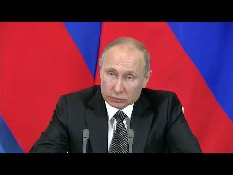 Putin destacó la cooperación rusa para buscar al submarino ARA San Juan