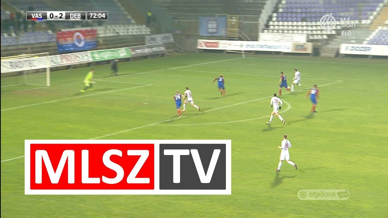 Sós Bence gólja a Vasas FC - DVSC mérkőzésen