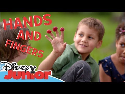 Disney Junior | Body Movements 🏃 | Hands and fingers | Official Disney Channel Africa