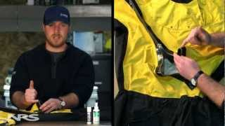 How To: Drysuit Zipper Care and Maintenance