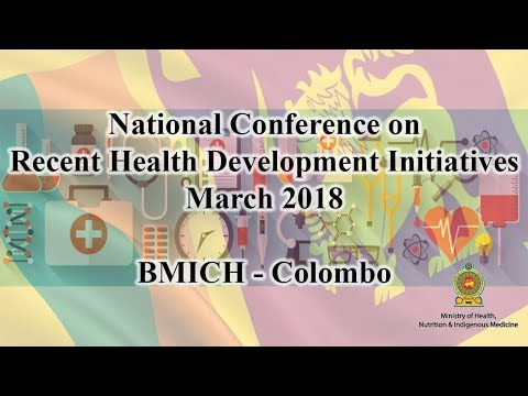 Ministry of Health, Nutrition & Indigenous Medicine Live Stream