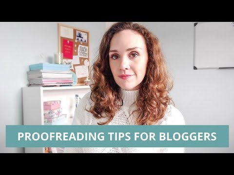X MARKS THE SPOT: PROOFREADING TIPS FOR BLOGGERS [BLOGGING BASICS]