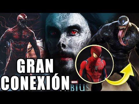 GRAN CONEXIÓN Morbius y Venom 2 conectadas con Spider-Man– Seis siniestros en el UCM (TEORÍA FAN)