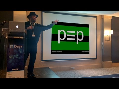 p≡p Presentation by VolkerBirk at ITDays in Luxembourg