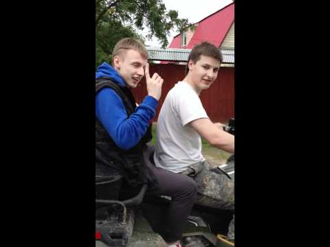 Как мы перевозили скутер))