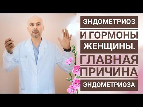 Эндометриоз и гормоны. Главная причина эндометриоза.