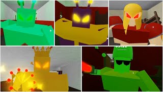 ROBLOX PIGGY ALIEN ALL JUMPSCARE - Roblox Alien New Update
