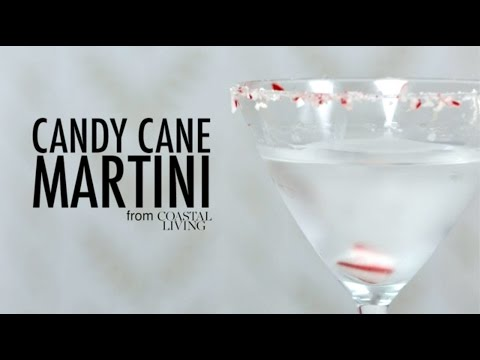 How to Make a Candy Cane Martini