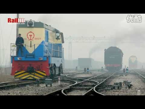 RailHD production: Chinese railway diesel engines 中国内燃机车