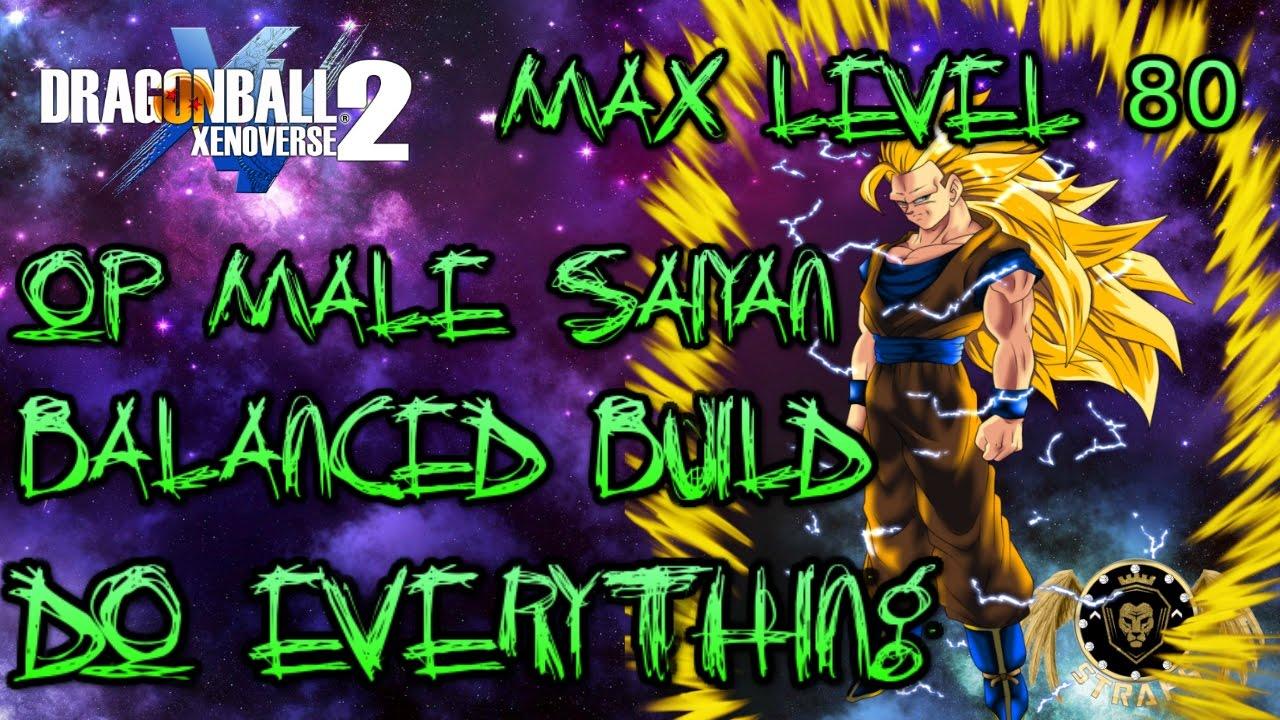 Good Male Saiyan Build Xenoverse