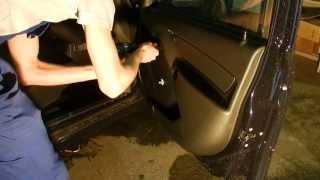Снятие обшивки двери LADA Granta