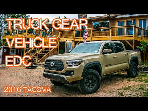 Truck EDC / Vehicle Gear - Emergency Car Gear (2016 Tacoma)