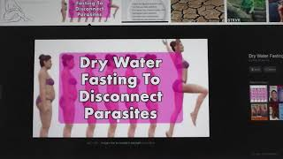 DETOX PROCESS --------- What is DRY FASTING and What does it Help With?
