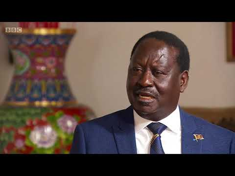 BBC Interview: Raila Odinga calls for new elections in August 2018