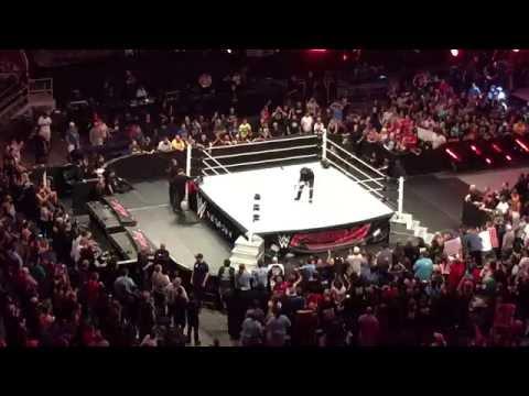 WWE Monday Night Raw - Phoenix, AZ (6/20/16) - Ambrose Post-Show