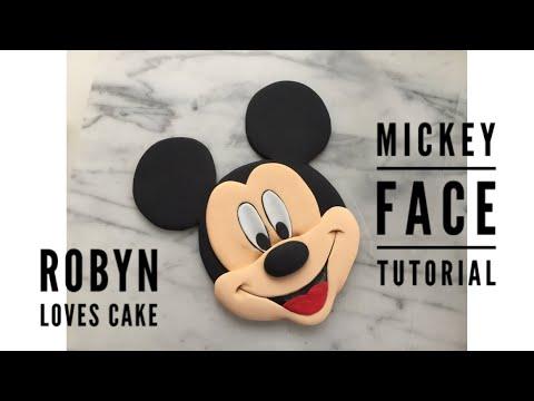 Mickey Face Tutorial
